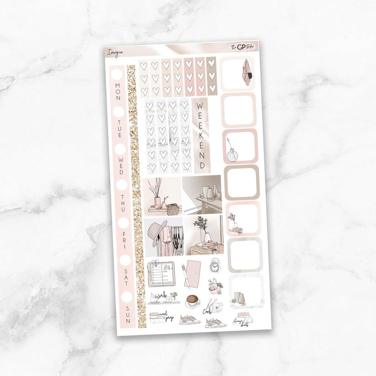IMOGEN Hobonichi Weekly Size Planner Sticker Kit-The GP Studio