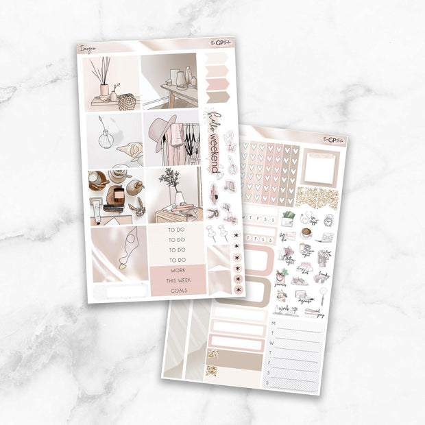 IMOGEN Mini Size Planner Sticker Kit-The GP Studio