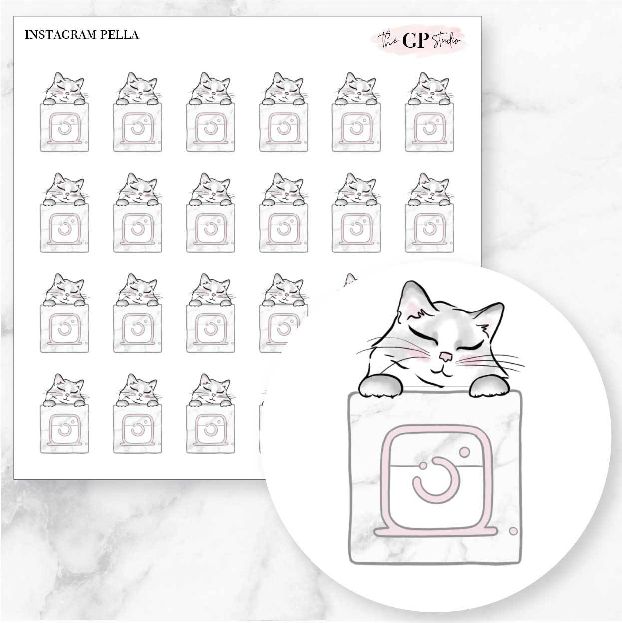 INSTAGRAM PELLA Planner Stickers-The GP Studio