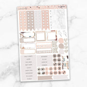 LA VIE EN ROSE Functional Planner Sticker Kit-The GP Studio