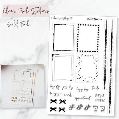 LEFTOVER FEBRUARY 2019 MYSTERY KIT FOIL SHEET-The GP Studio