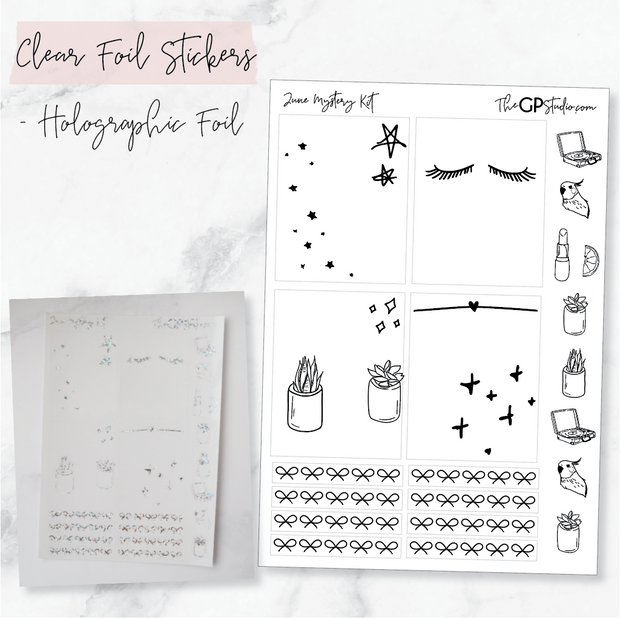 LEFTOVER JUNE 2019 MYSTERY KIT FOIL SHEET-The GP Studio