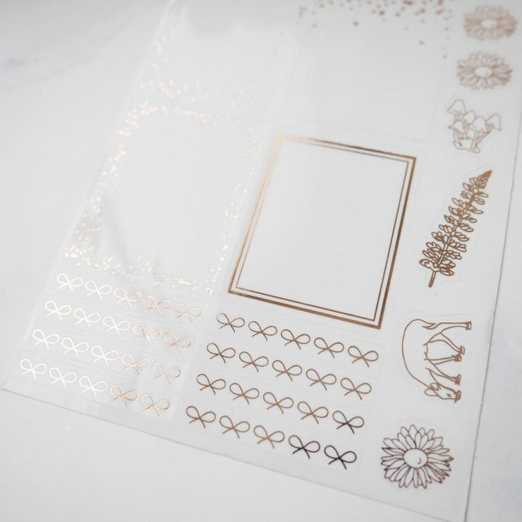 LEFTOVER SEPTEMBER 2019 MYSTERY KIT FOIL SHEET-The GP Studio