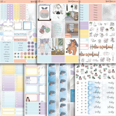 LITTLE ONE Planner Sticker Kit-The GP Studio