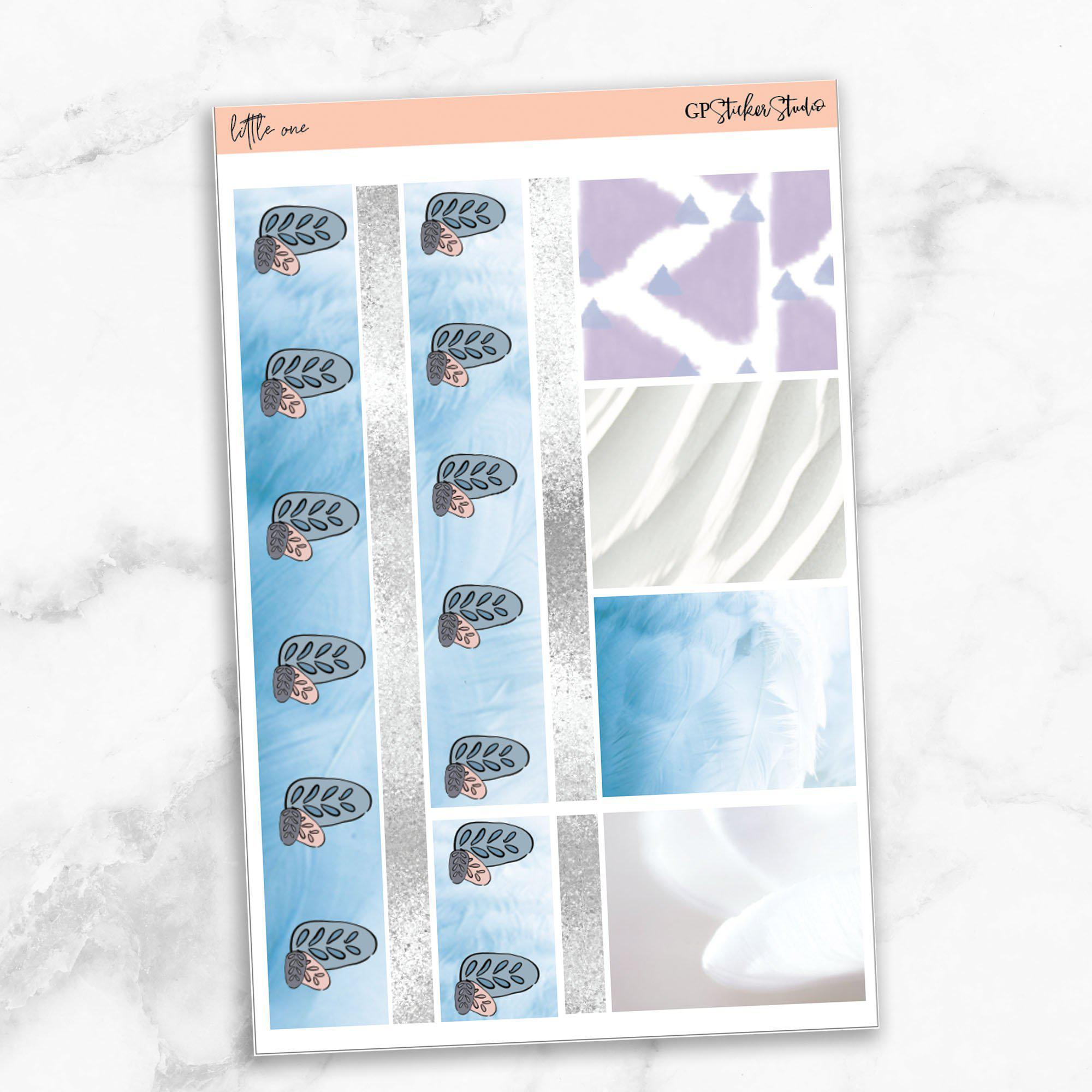 LITTLE ONE Washi Sheet Stickers-The GP Studio