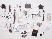 LUXE LIFE SET OF DIE CUTS-The GP Studio