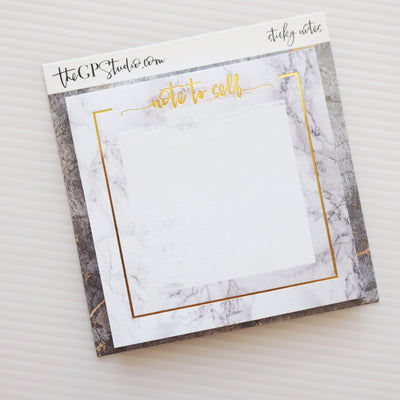 LUXE LIFE STICKY NOTES-The GP Studio