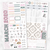 MARCH 2020 MONTHLY Sticker Kit Hobonichi Week's Size-The GP Studio