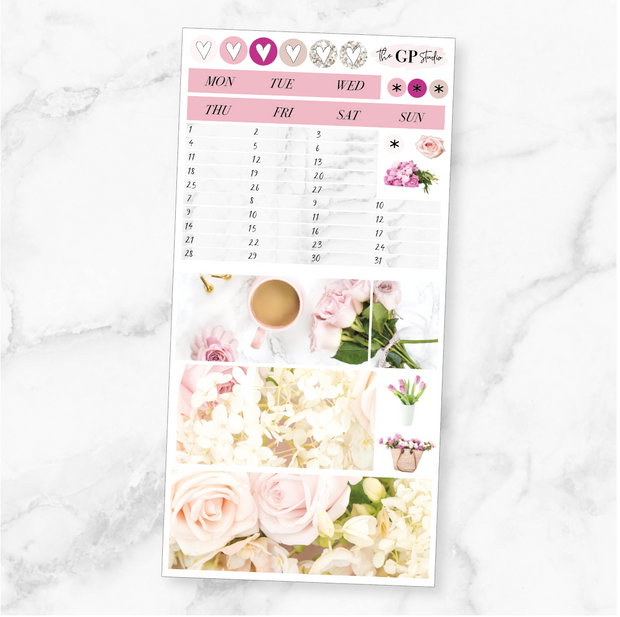 MAY 2020 MONTHLY Sticker Kit Hobonichi Week's Size-The GP Studio