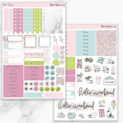 ME TIME Functional Planner Sticker Kit-The GP Studio