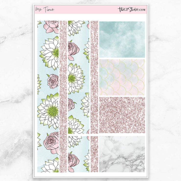 ME TIME Washi Sheet Stickers-The GP Studio