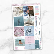 MERMAID Mini Size Planner Sticker Kit-The GP Studio