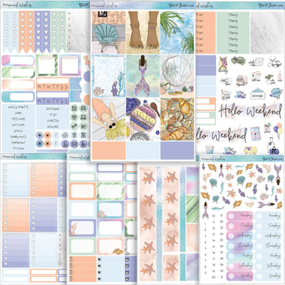MERMAID WISHES Planner Sticker Kit-The GP Studio