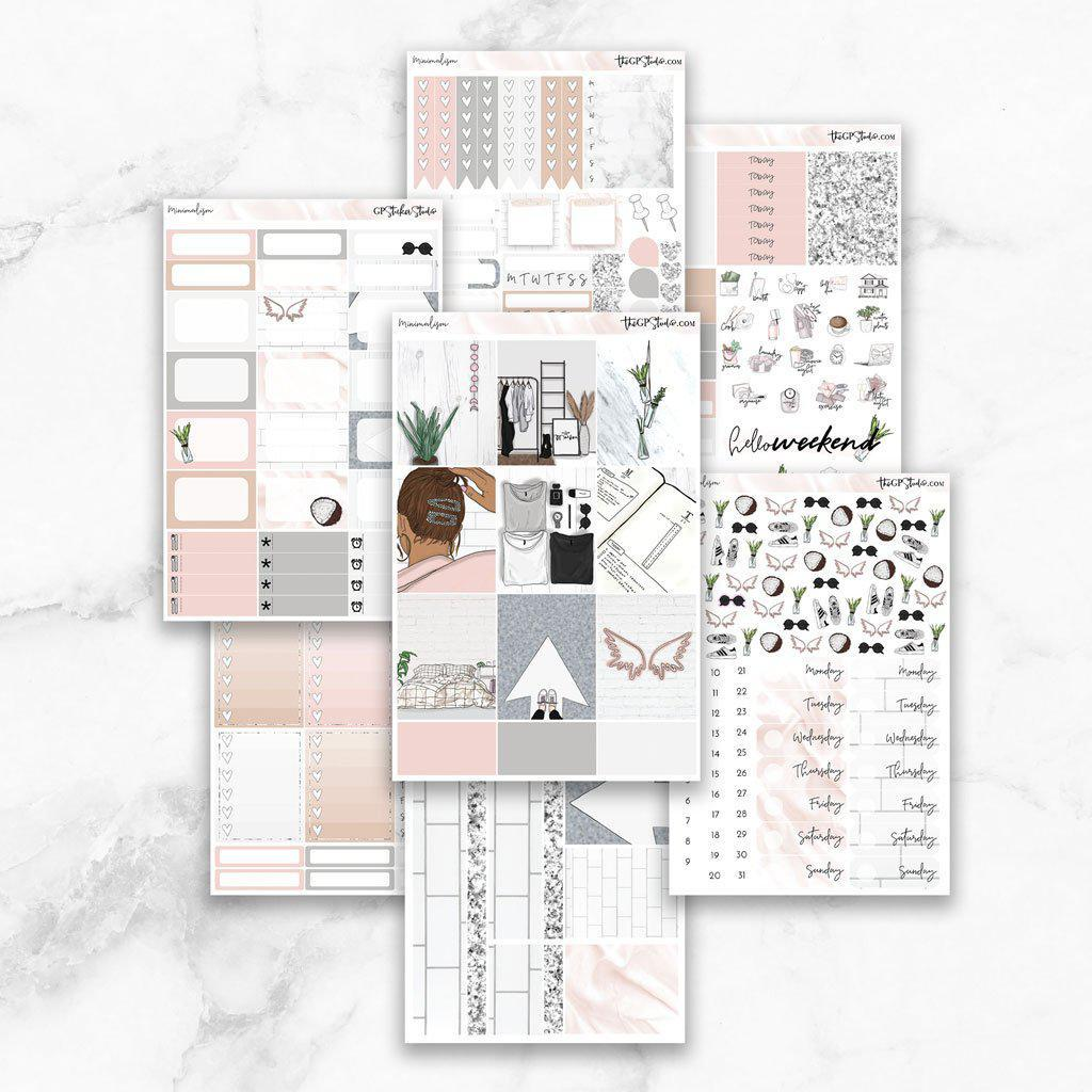 MINIMALISM Planner Sticker Kit-The GP Studio