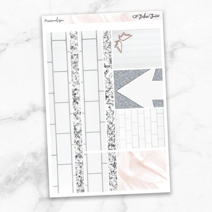 MINIMALISM Washi Sheet Stickers-The GP Studio
