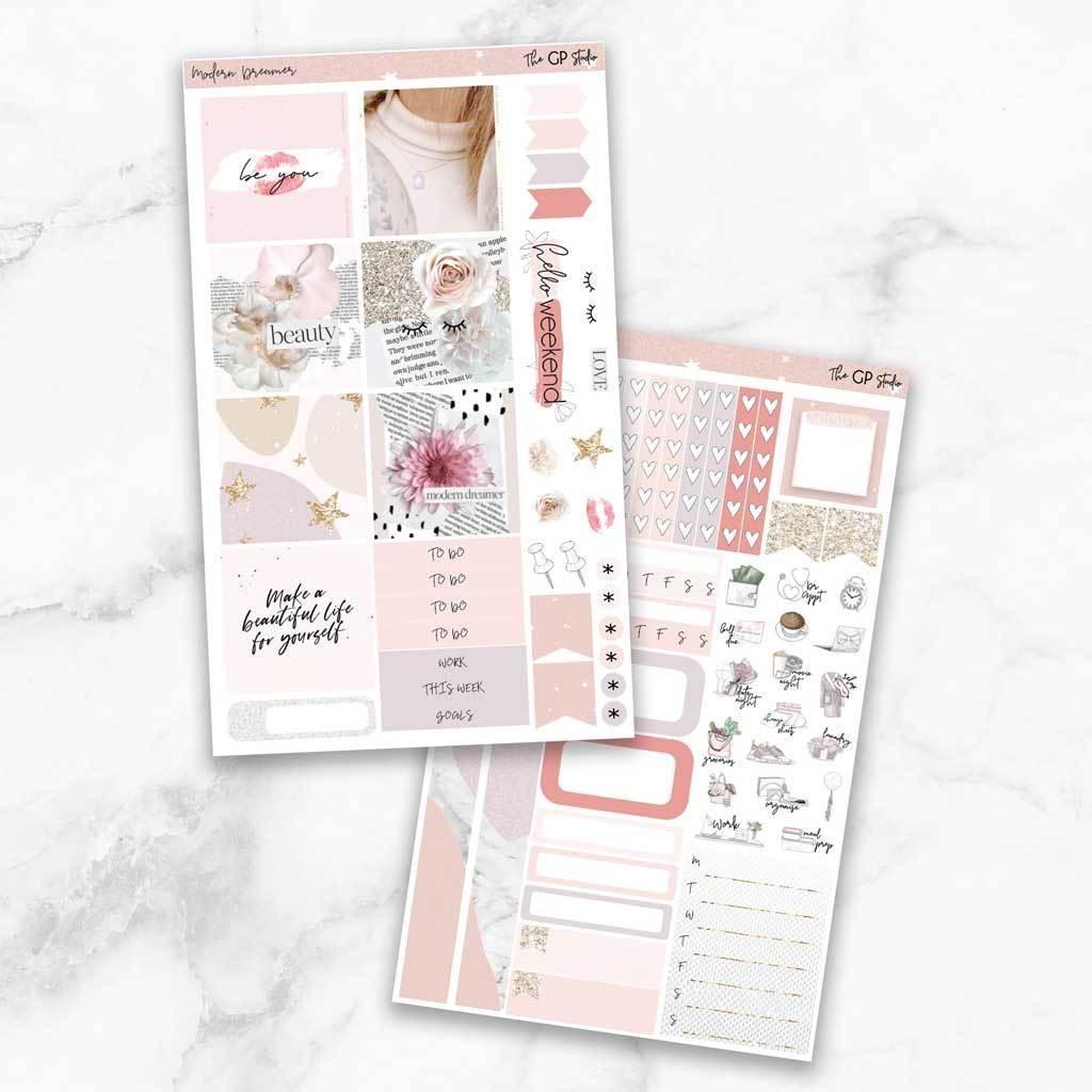 MODERN DREAMER Mini Size Planner Sticker Kit-The GP Studio