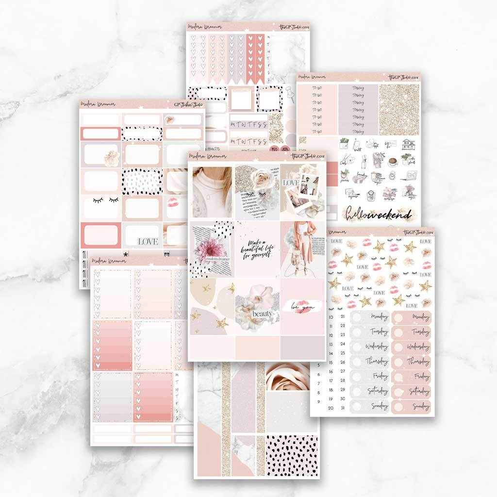 MODERN DREAMER Planner Sticker Kit-The GP Studio