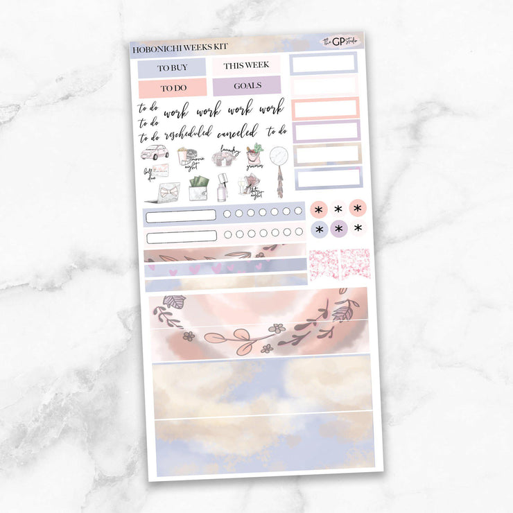 MOTHER'S DAY Hobonichi Weekly Size Planner Sticker Kit-The GP Studio