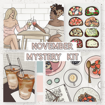 Mystery Sticker Kit Subscription-The GP Studio