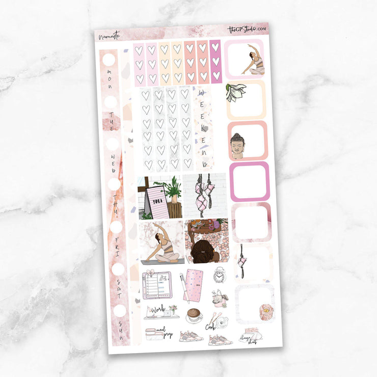 NAMASTE Hobonichi Weekly Size Planner Sticker Kit-The GP Studio