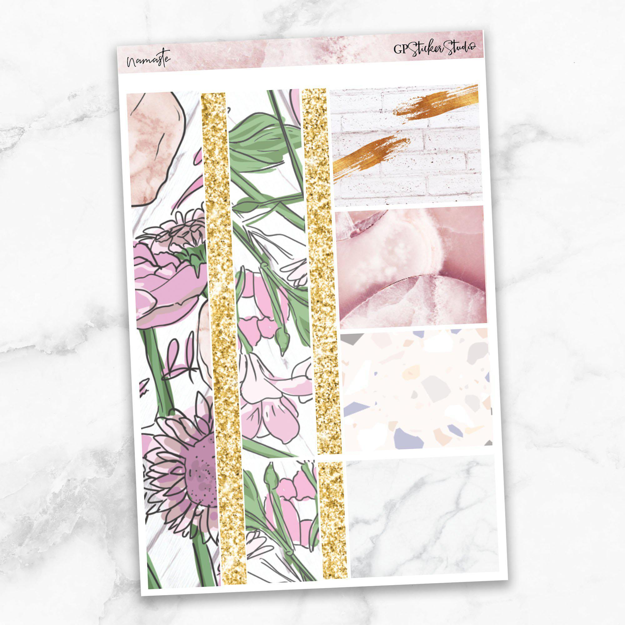NAMASTE Washi Sheet Stickers-The GP Studio