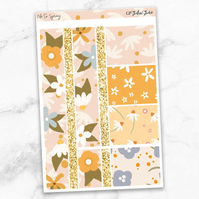 ODE TO SPRING Washi Sheet Stickers-The GP Studio