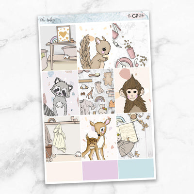 OH BABY Full Boxes Planner Stickers-The GP Studio