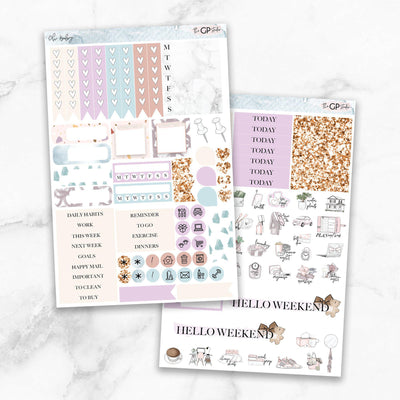 OH BABY Functional Planner Sticker Kit-The GP Studio