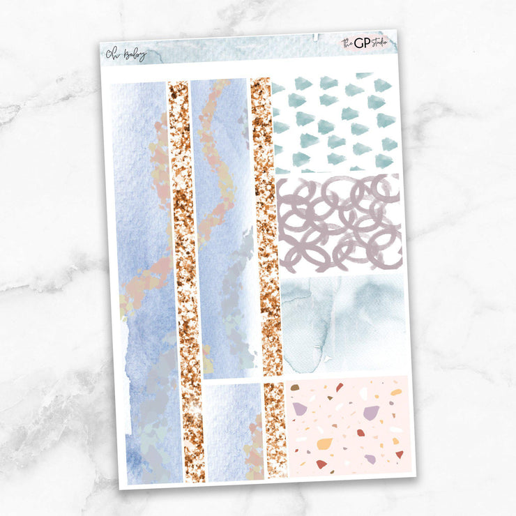 OH BABY Washi Sheet Stickers-The GP Studio