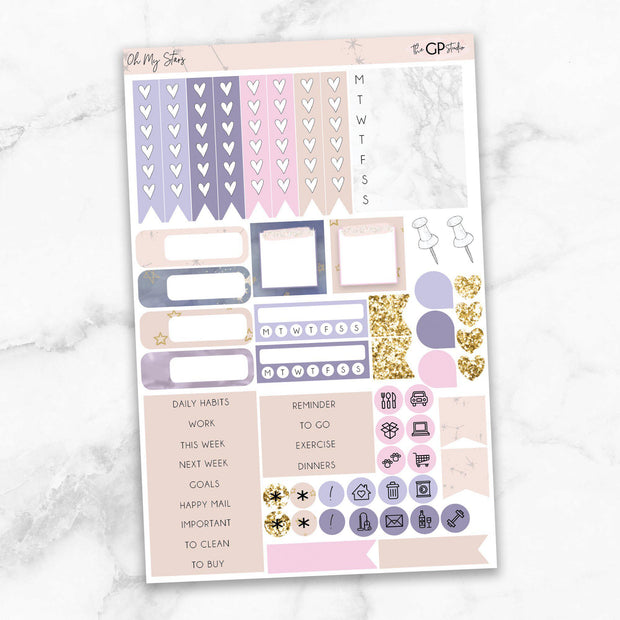 OH MY STARS Functional Planner Sticker Kit-The GP Studio