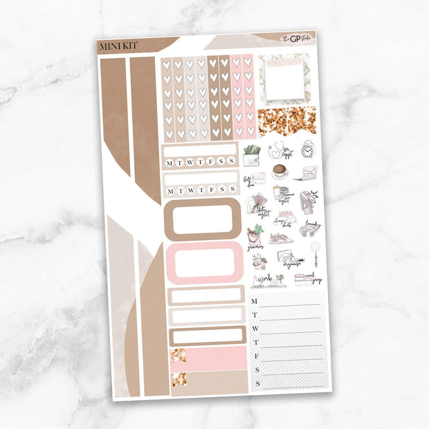 ONE LINER Mini Size Planner Sticker Kit-The GP Studio