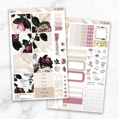 OPHELIA Mini Size Planner Sticker Kit-The GP Studio
