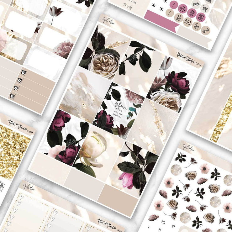 OPHELIA Planner Sticker Kit-The GP Studio