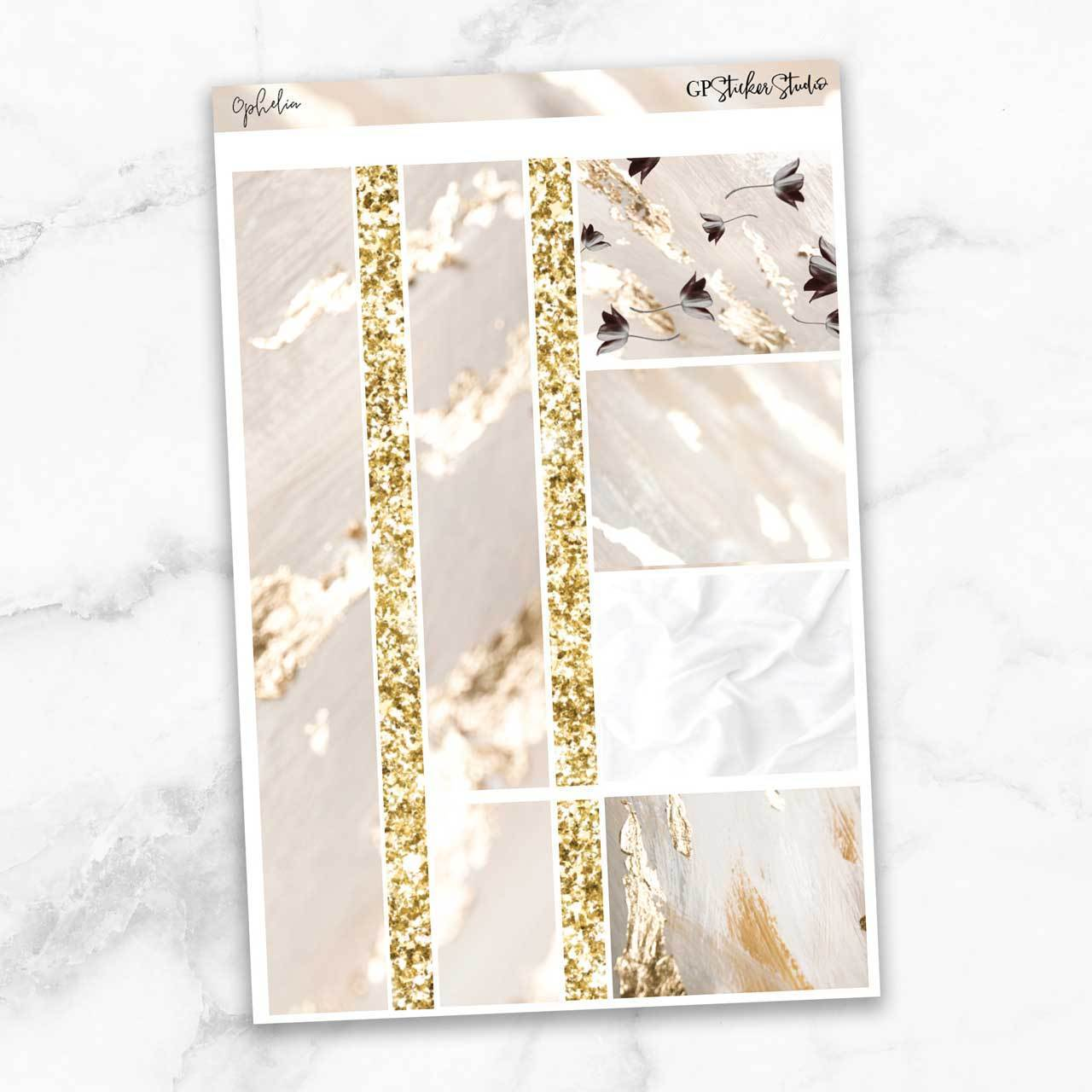 OPHELIA Washi Sheet Stickers-The GP Studio