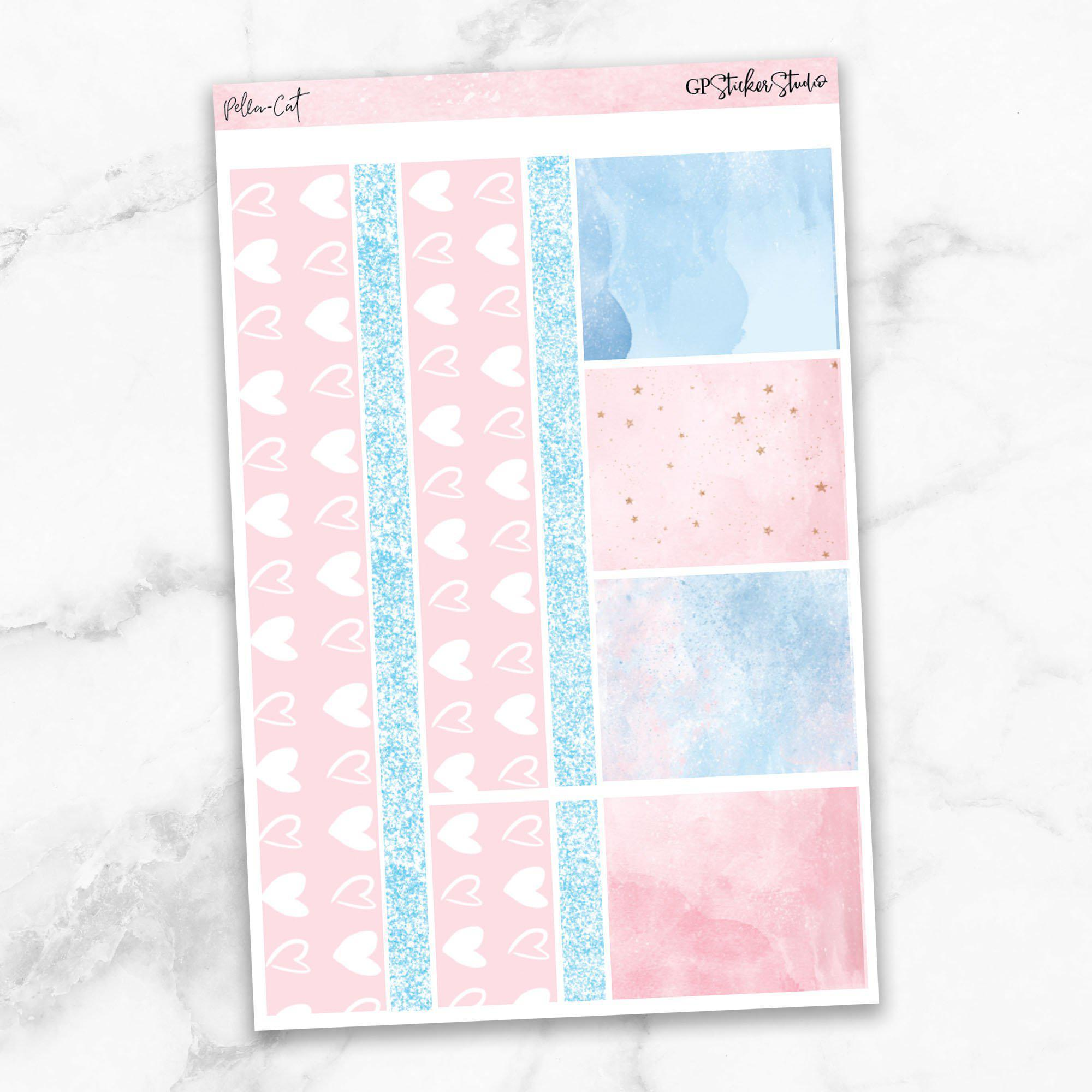 PELLA CAT KIT Washi Sheet Stickers-The GP Studio