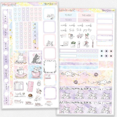 PELLA SORBET Hobonichi Weekly Size Planner Sticker Kit-The GP Studio