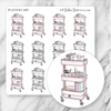 PLANNER CART Icon Planner Stickers-The GP Studio