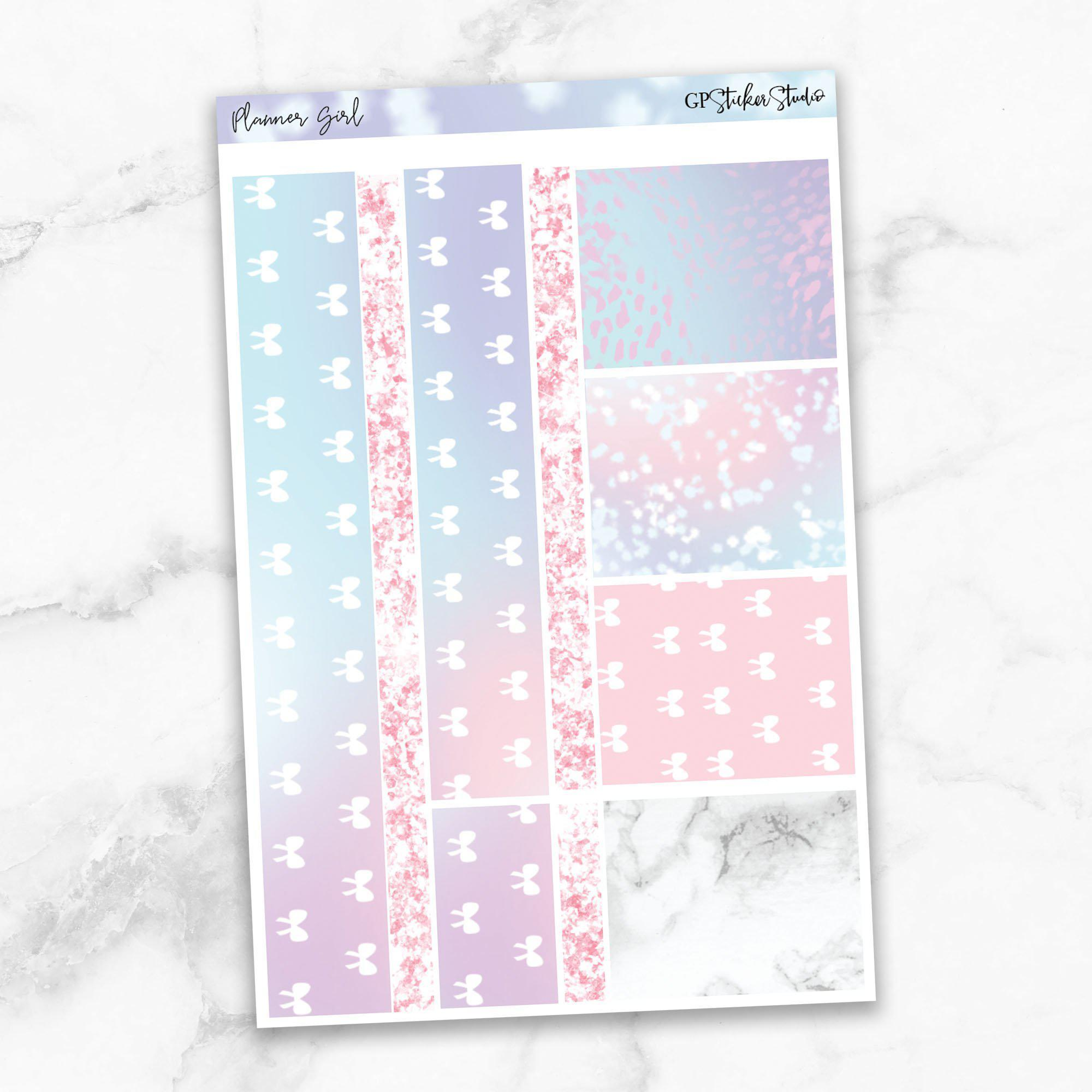 PLANNER GIRL Washi Sheet Stickers-The GP Studio