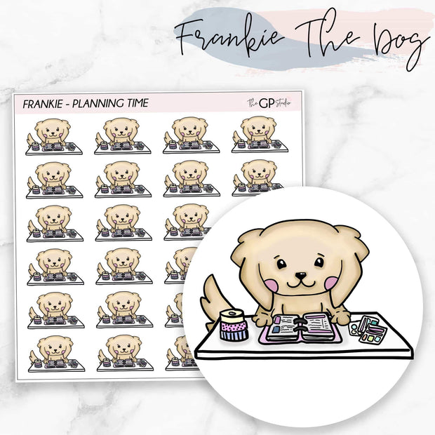 PLANNING TIME FRANKIE Planner Stickers-The GP Studio