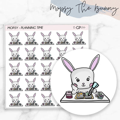 PLANNING TIME MOPSY Planner Stickers-The GP Studio