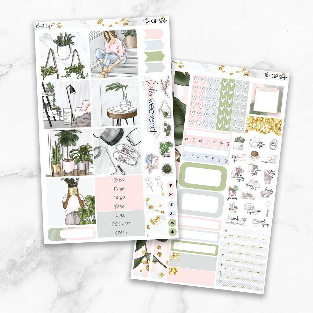 PLANT LIFE Mini Size Planner Sticker Kit-The GP Studio