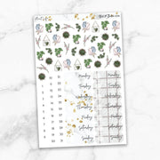 PLANT LIFE Planner Sticker Kit-The GP Studio