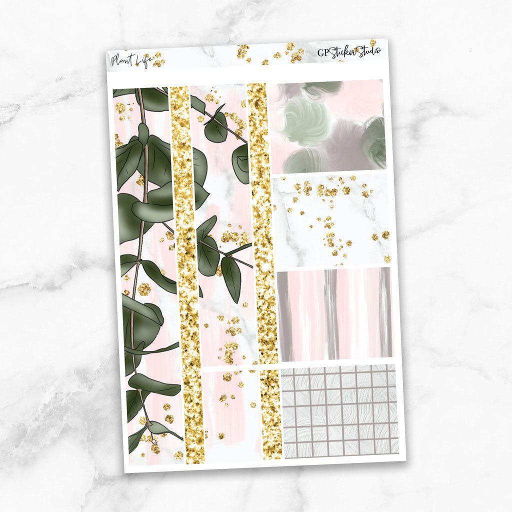 PLANT LIFE Washi Sheet Stickers-The GP Studio