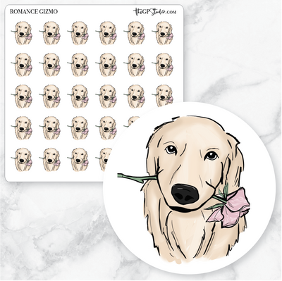 ROMANCE GIZMO Planner Stickers-The GP Studio