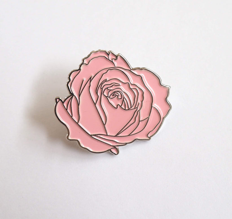 ROSE ENAMEL PIN-The GP Studio