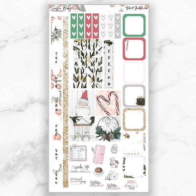 SANTA BABY Hobonichi Weekly Size Planner Sticker Kit-The GP Studio