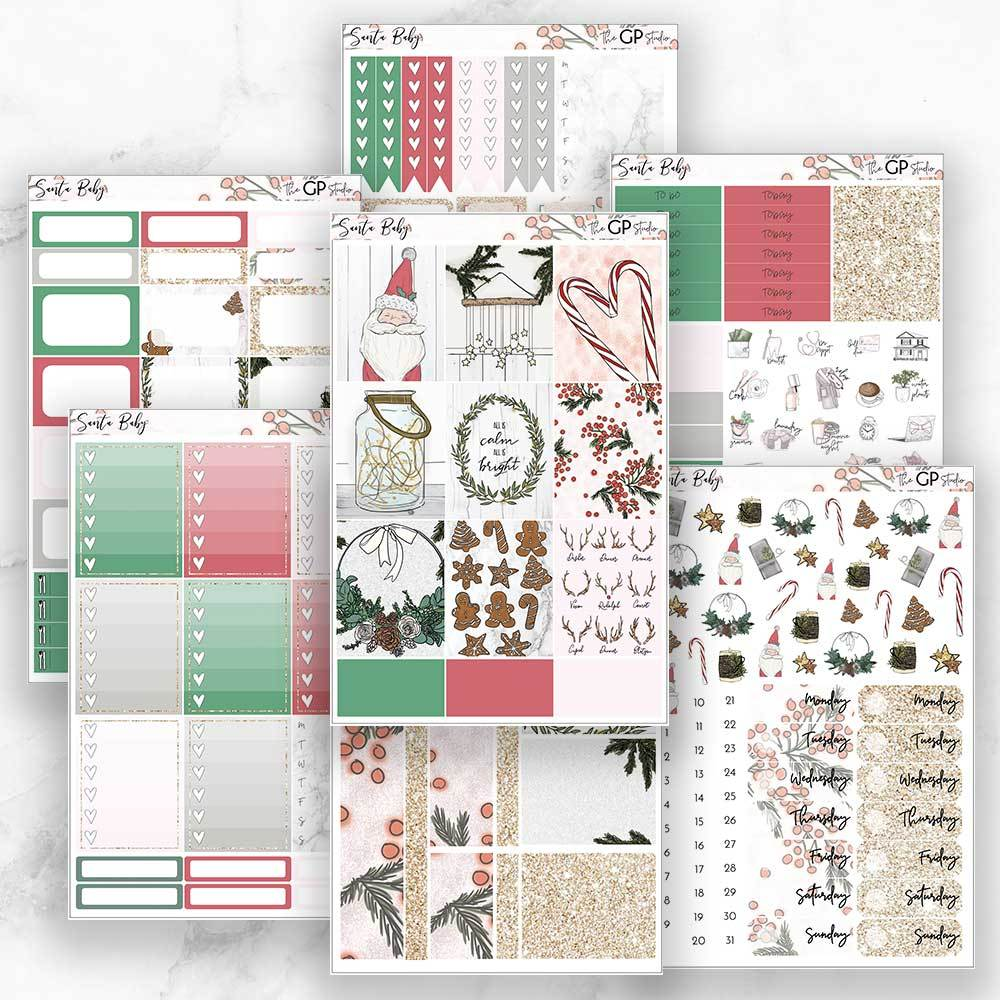 SANTA BABY Planner Sticker Kit-The GP Studio