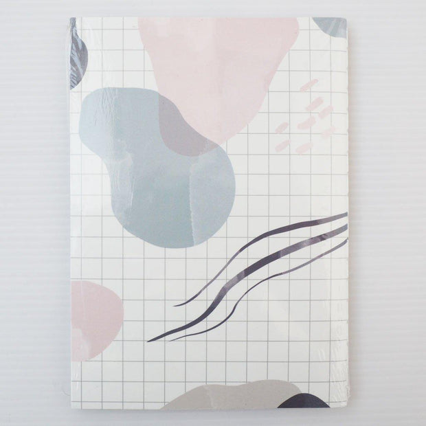 SCANDI VIBES DOT GRID A6 SIZE NOTEBOOK-The GP Studio