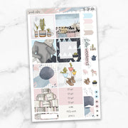 SCANDI VIBES Mini Size Planner Sticker Kit-The GP Studio