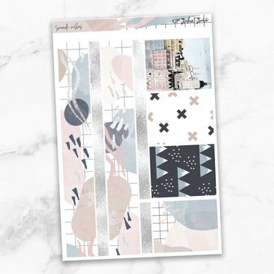 SCANDI VIBES Planner Sticker Kit-The GP Studio